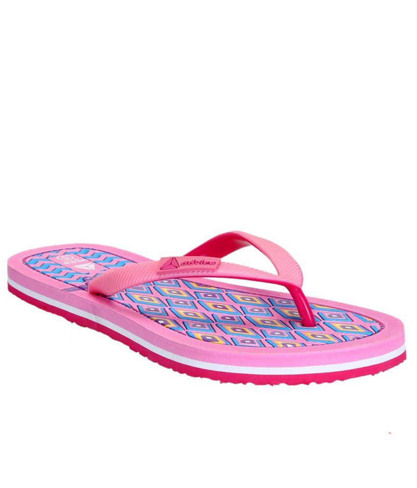 Advice Pink Slippers & Flip Flops