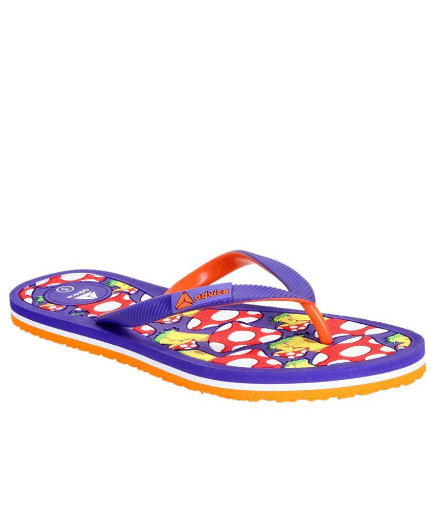 Advice Purple Slippers