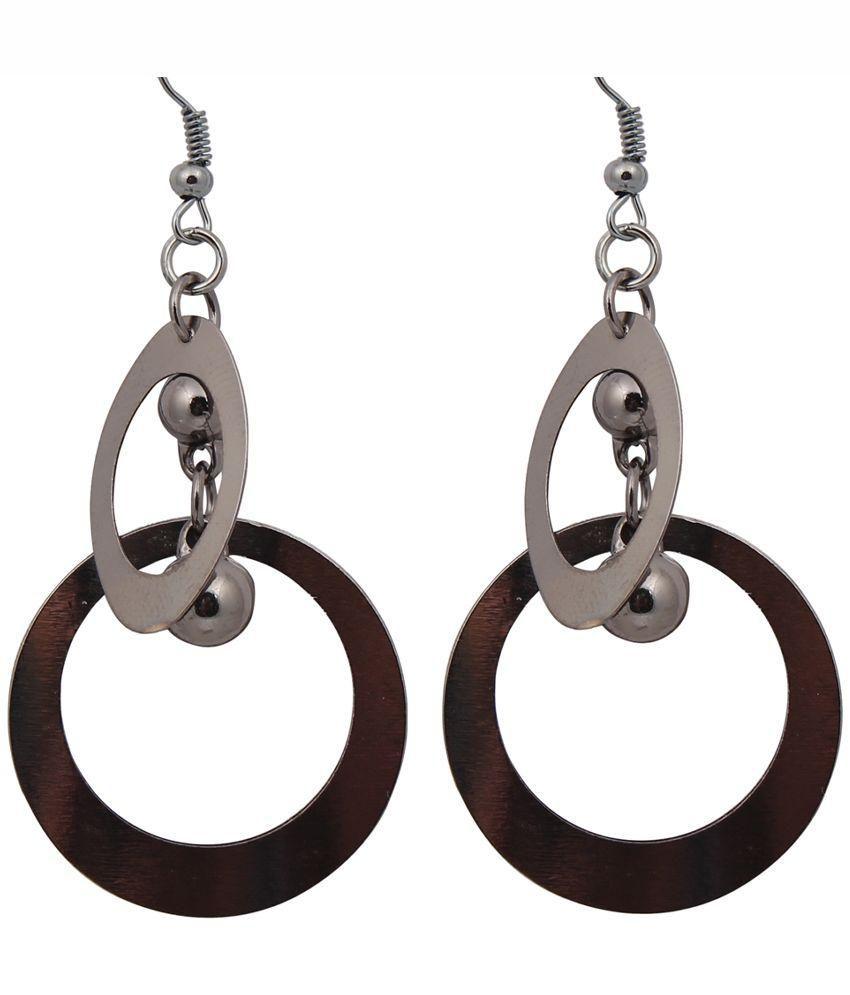 Penny Jewels BRown Hanging Earrings