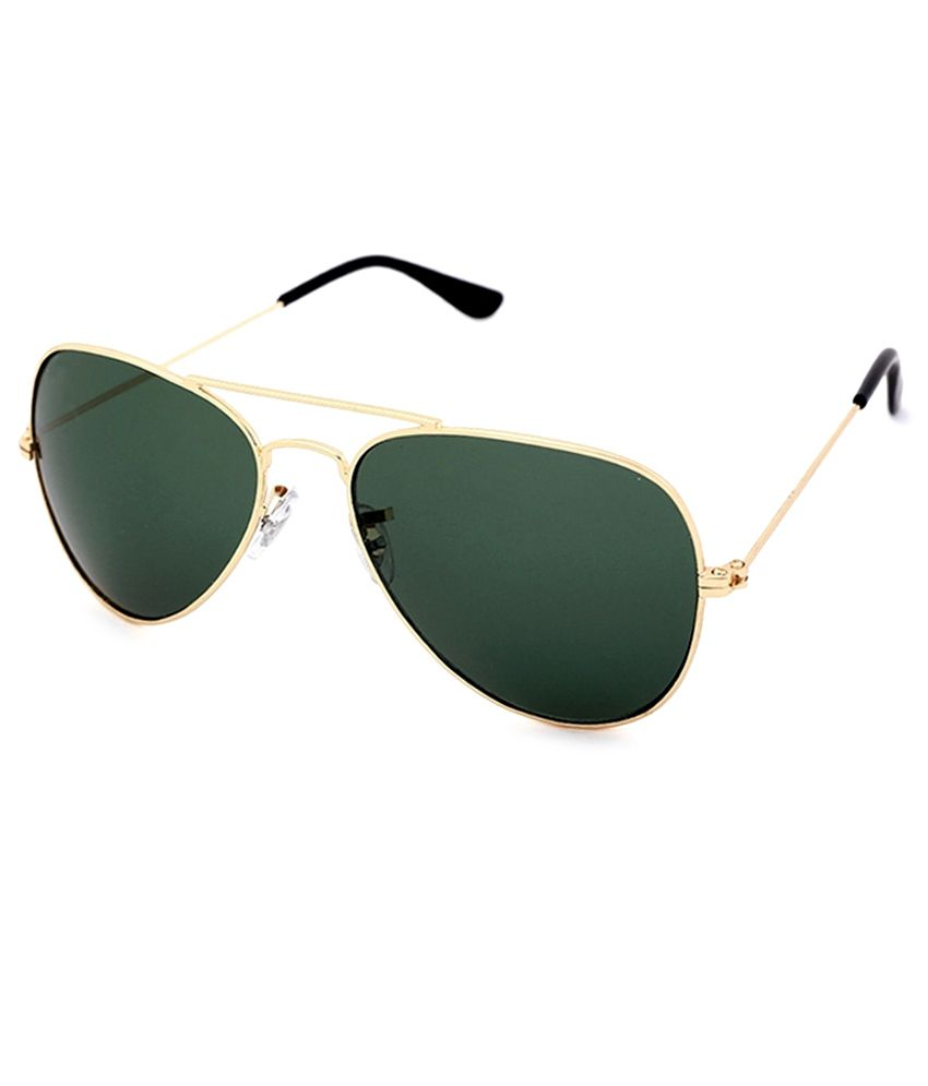 2873eb87e1 HH Green Avaitor Unisex Sunglasses available at SnapDeal for Rs.320