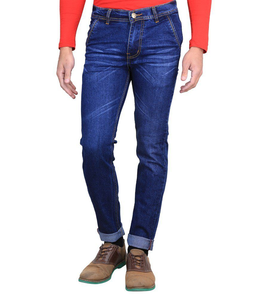 Ave Blue Slim Fit Jeans