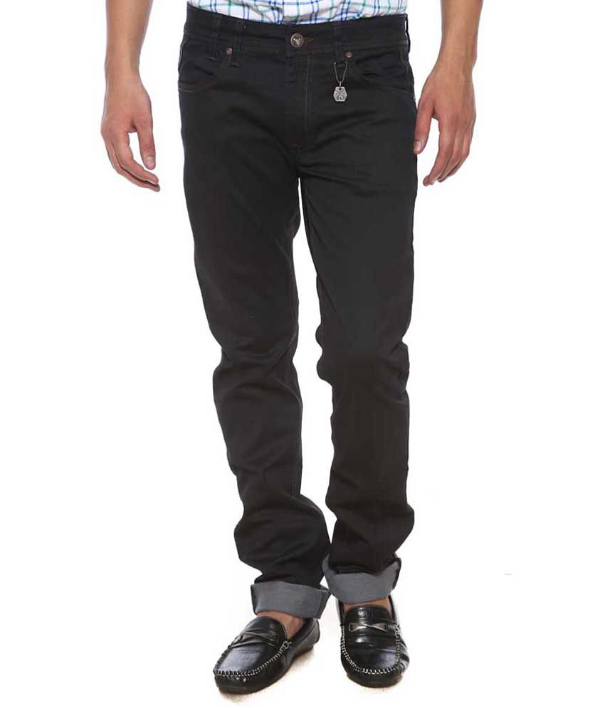 Pepe Jeans Black Slim Fit Jeans