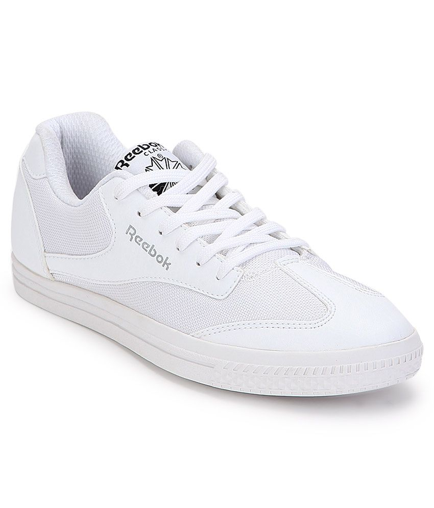 fe166ca1712620 Reebok 4056558772537 Class Buddy White Canvas Casual Shoes- Price in India