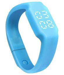 Flipfit Blue Smart Band Watch Tracker