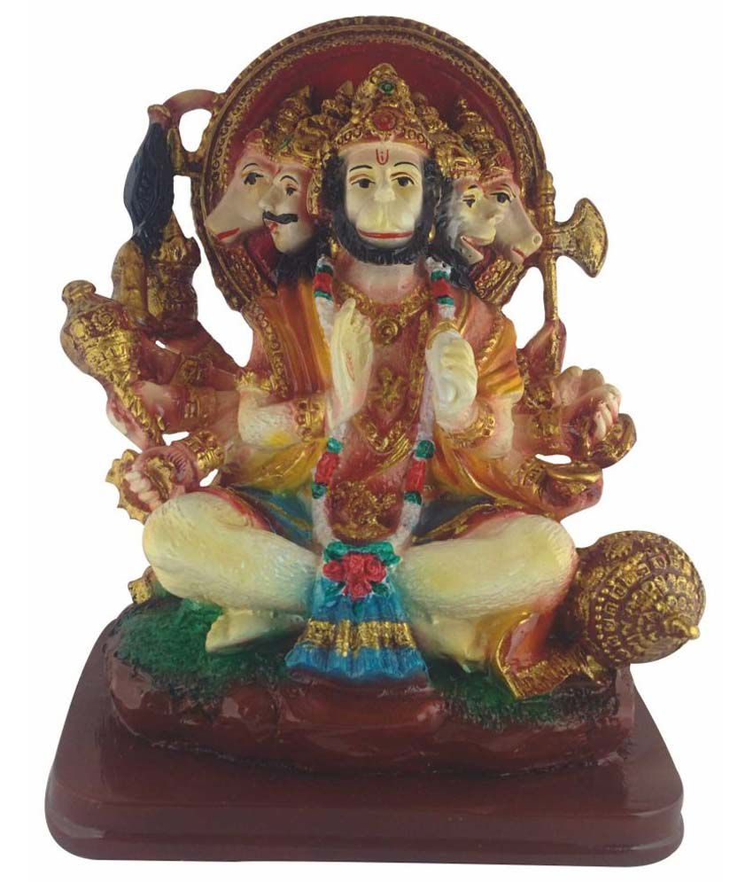 Galaxy World Hanuman Polyresin Idol