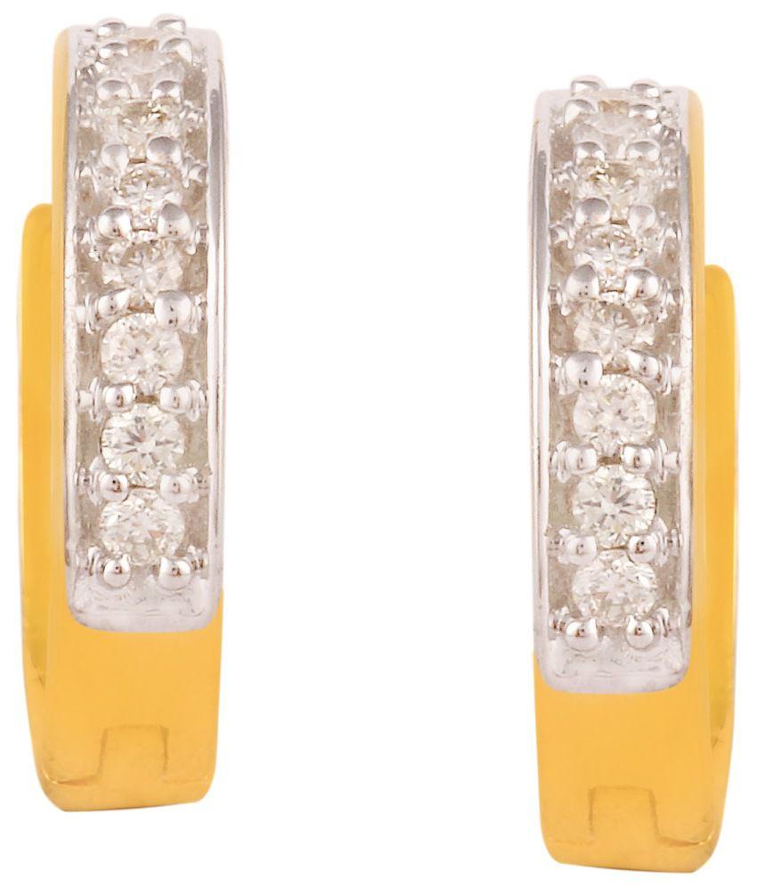 Hg Jewels 18kt Gold Diamond Balis
