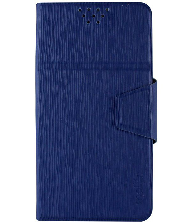 Molife Universal   Flip Cover For Sony Xperia Ul - Blue