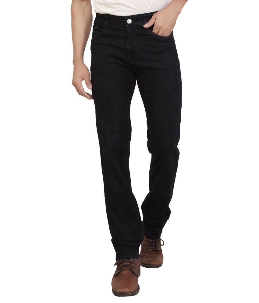 Wood Black Slim Fit Jeans