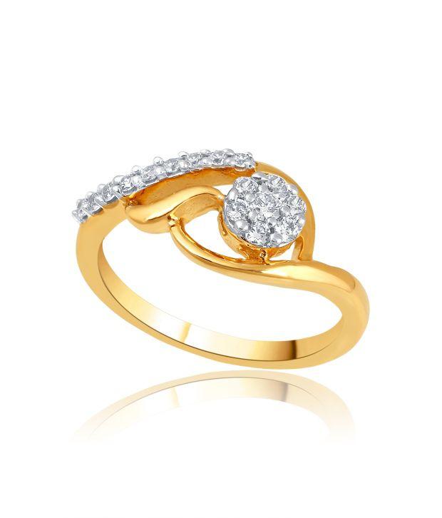 Shuddhi 14kt Gold BIS Hallmarked Diamond Ring