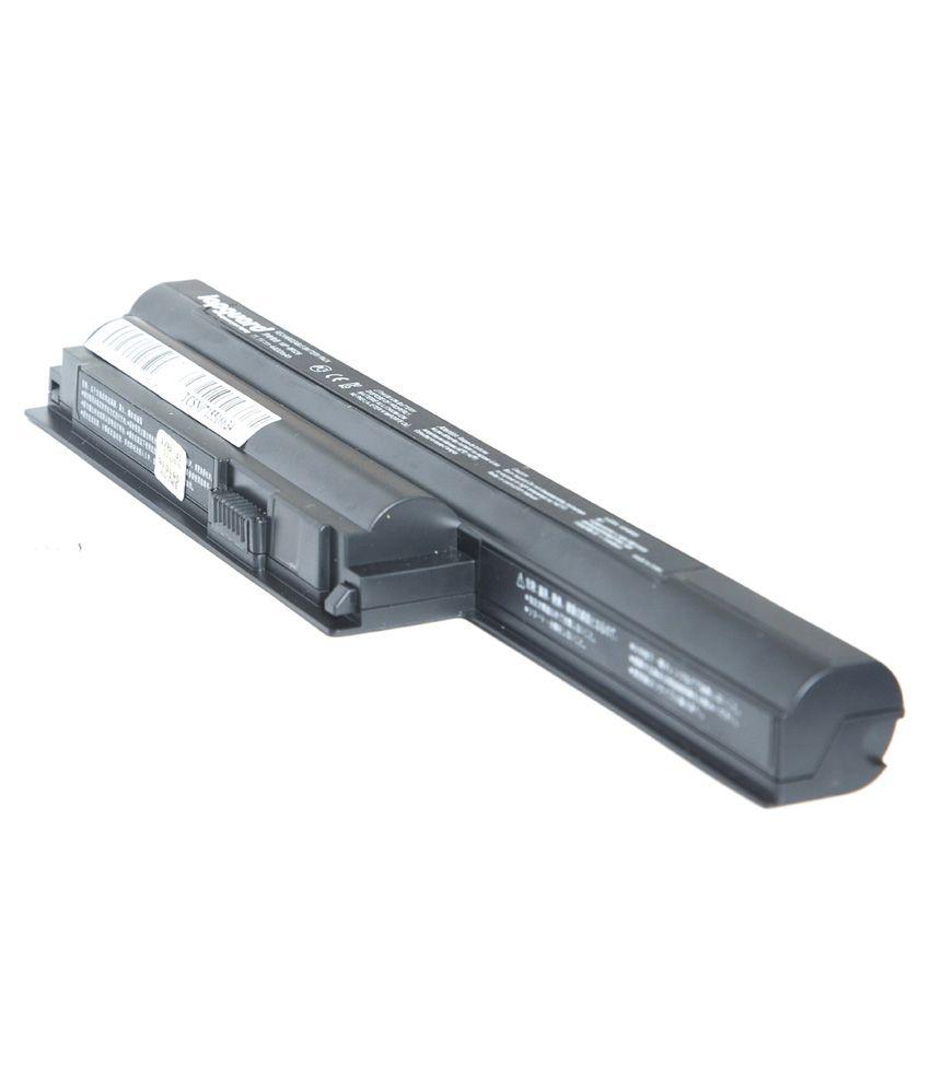 Lapguard 4400 mAh 6 Cell Laptop Battery For Sony VPCCA37EC - Black