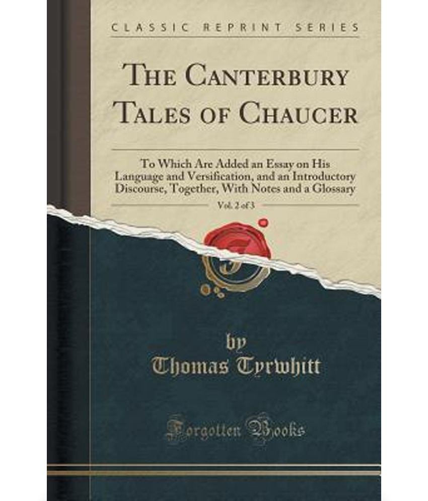essays prologue to the canterbury tales