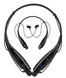 Gadget Hero's Wireless Bluetooth Headset Headphone Earphone for Mobile Phone PC Tablet HBS