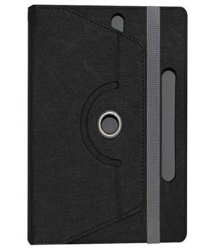 Acm Rotating Flip Cover for iBall Slide Q900 C   Black available at SnapDeal for Rs.339
