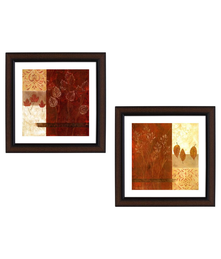 Delight Designer Wall Painting - Pack of 2