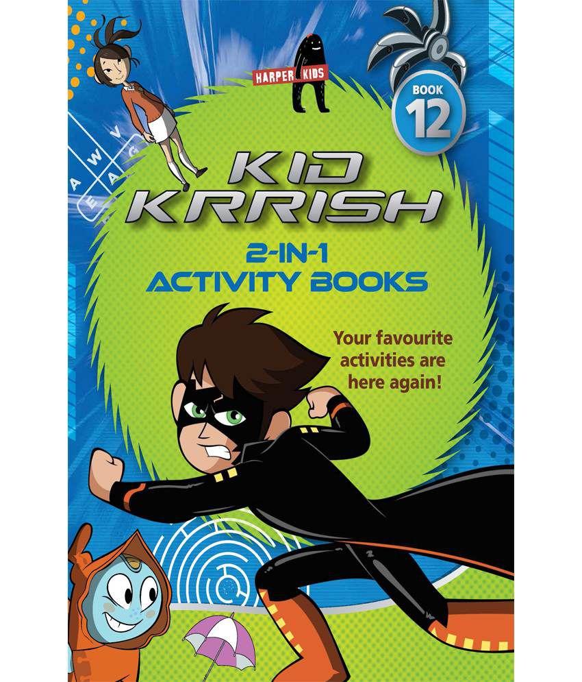 Kid Krrish Activity Book 12 Paperback - English
