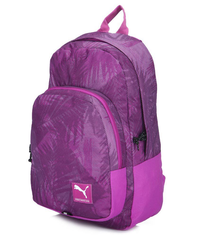 035a81a580 Puma Academy Purple Backpacks - Buy Puma Academy Purple Backpacks ...
