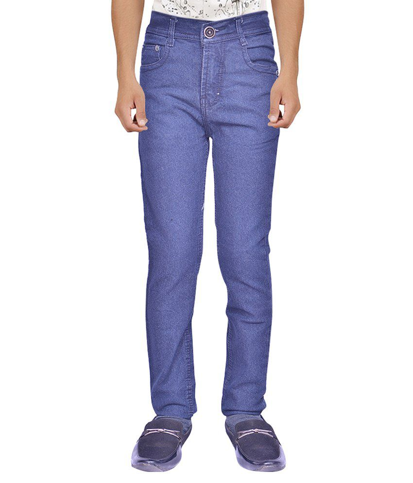 Rank Blue Regular Fit Jeans