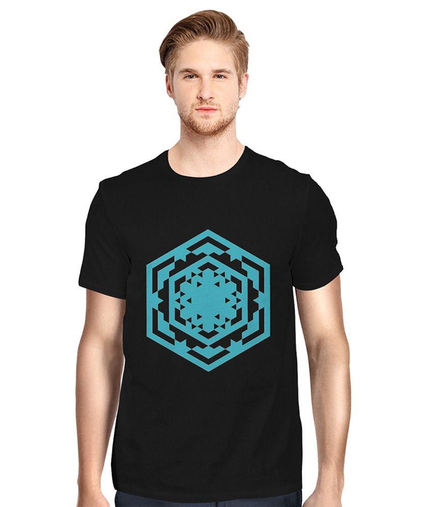 Twine Tree Black Round T-Shirt