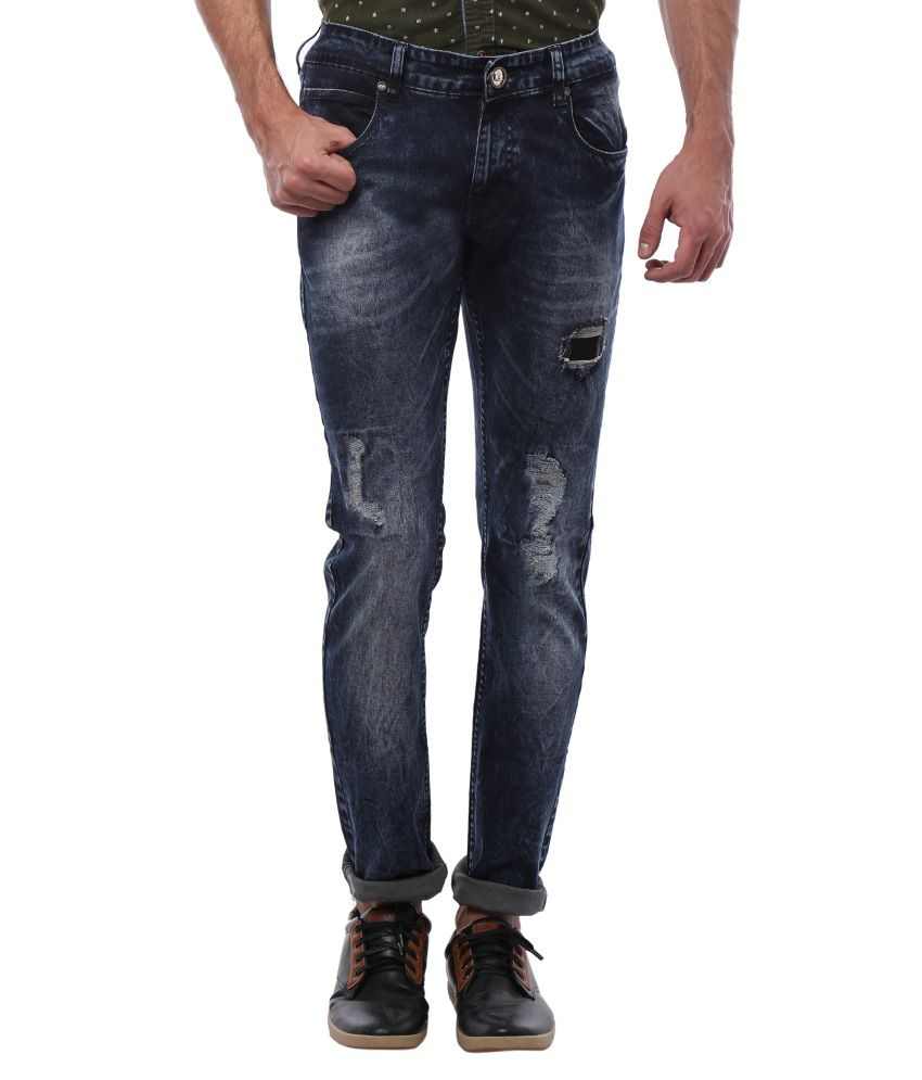 Bandit Navy Slim Fit Jeans