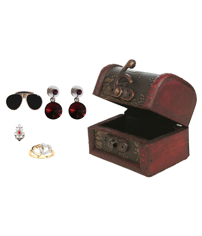 Outdazzle Wooden Jewellery Box