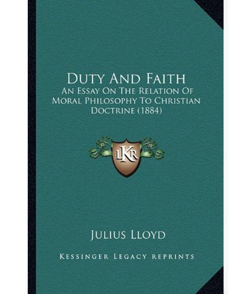 Essay faith