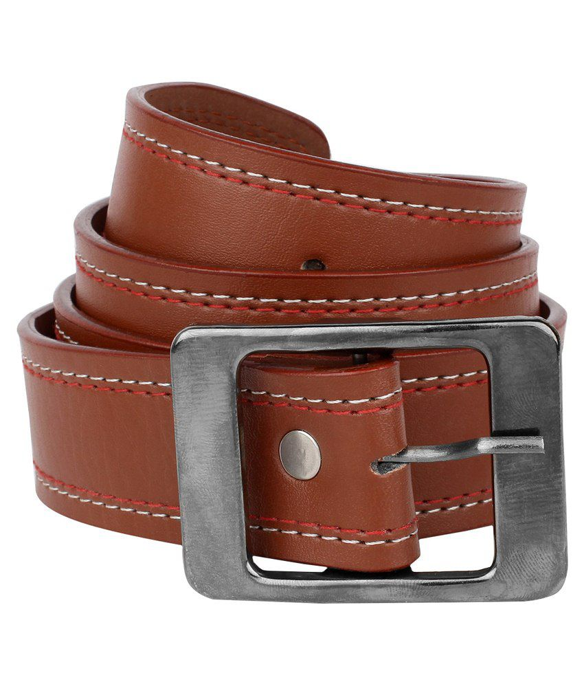 Daller Tan Casual Belt For Men