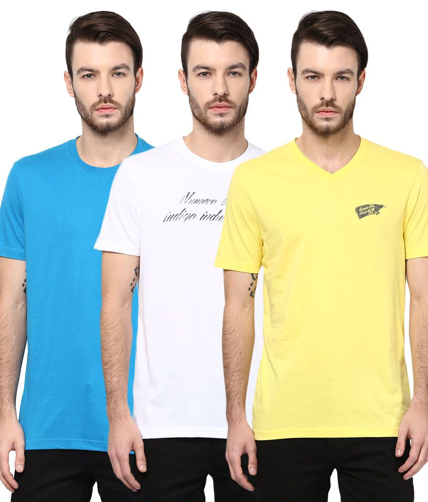 Numero Uno Pack Of 3 T Shirt