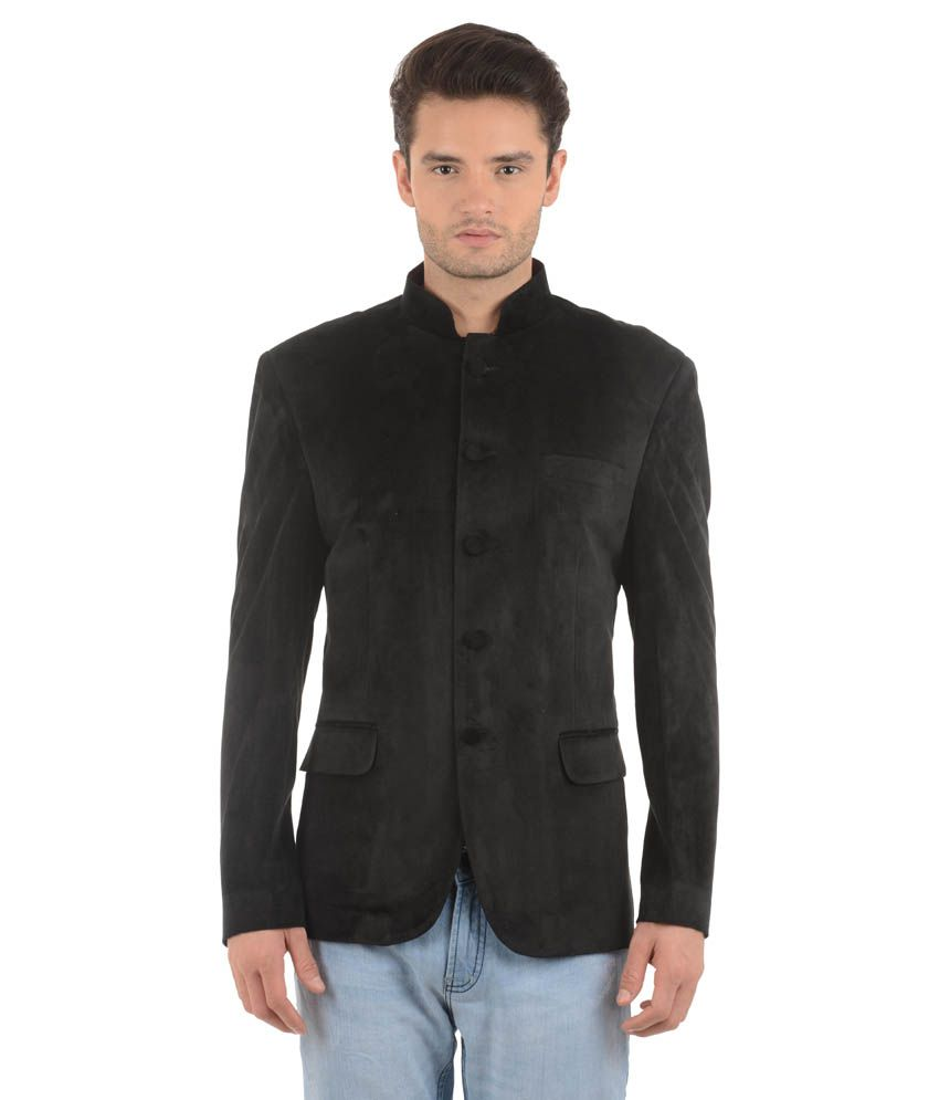 Nasir Black Casual Blazers Single