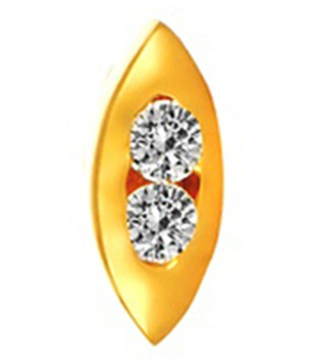 Gunjan Diamond 18Kt Gold Nosepin Stud