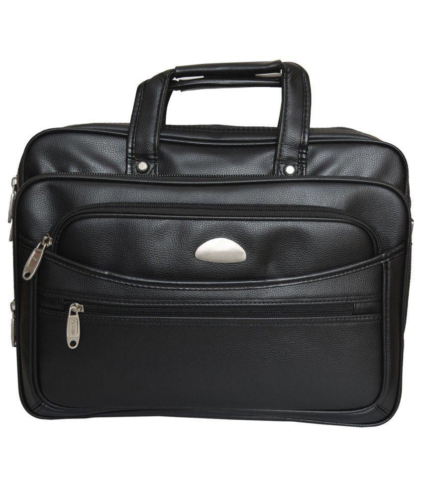 Rehan's Black Laptop Bag
