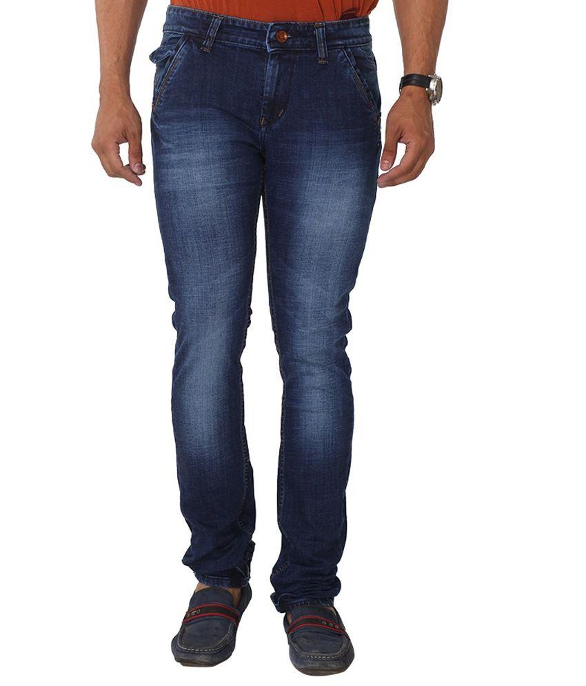 Hi-wok 69 Blue Regular Fit Jeans
