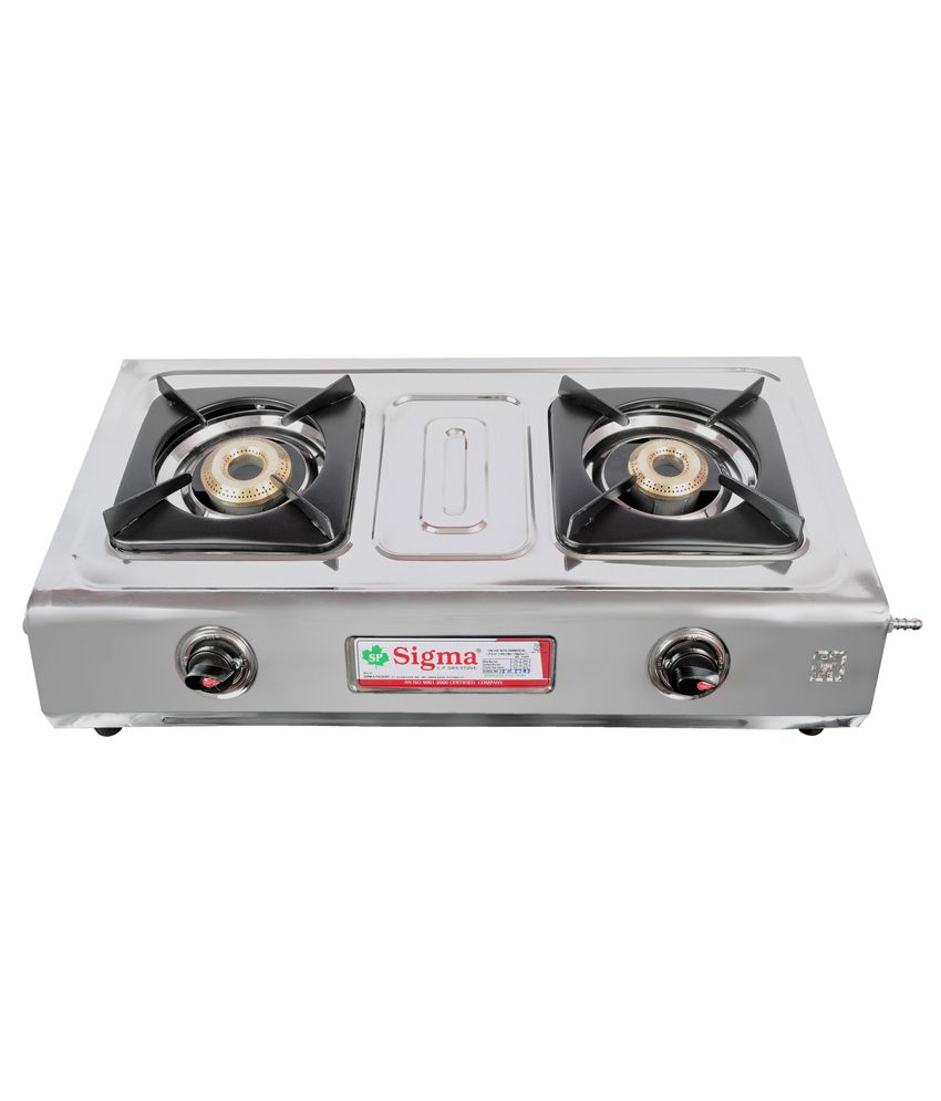 Sigma-SKW00205-Manual-Ignition-Gas-Cooktop-(2-Burners)