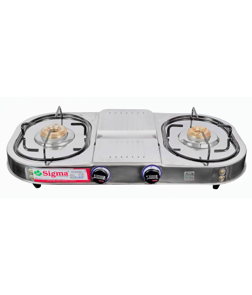 Sigma-SKW00211-Manual-Ignition-Gas-Cooktop-(2-Burners)