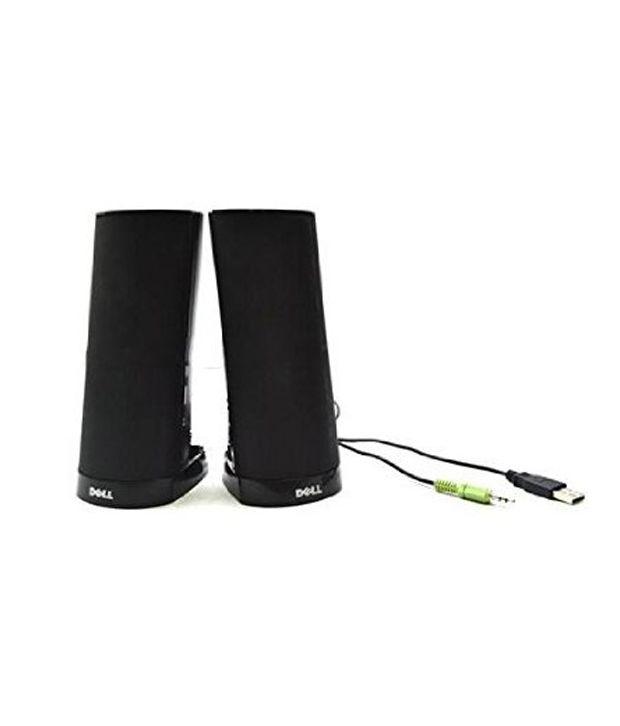 Dell AX210CR Speaker External Black USB Installation Set