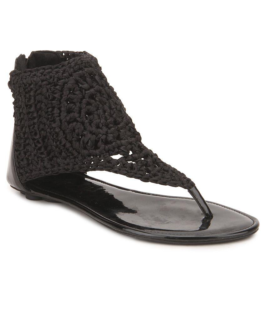 Black sandals online - Catwalk Black Sandals
