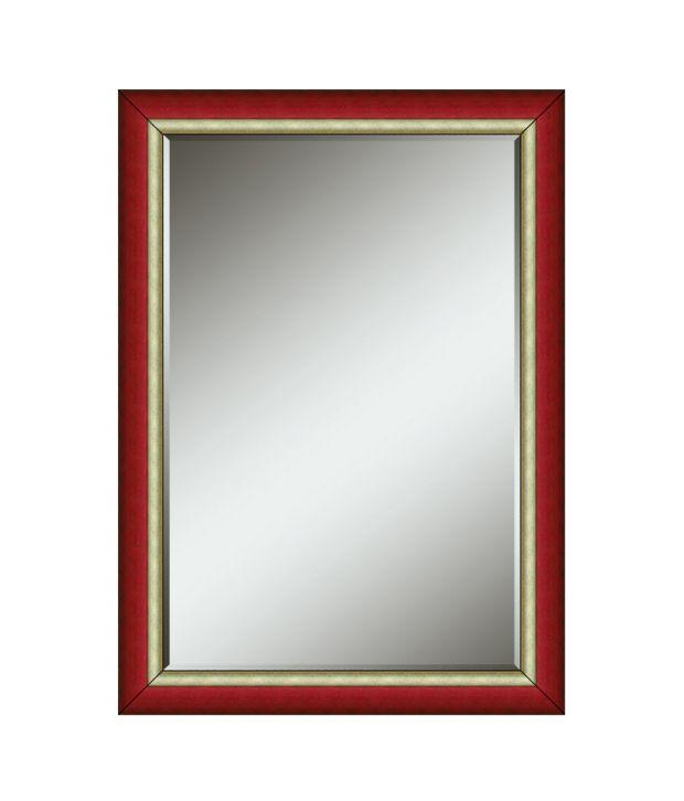 Elegant Arts & Frames Wooden Wall Decorative Mirror
