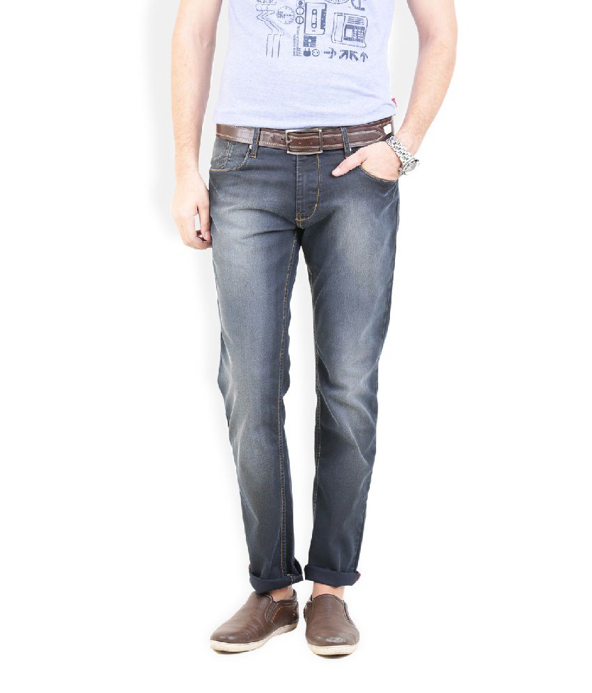 Thisrupt Black Slim Fit Jeans No