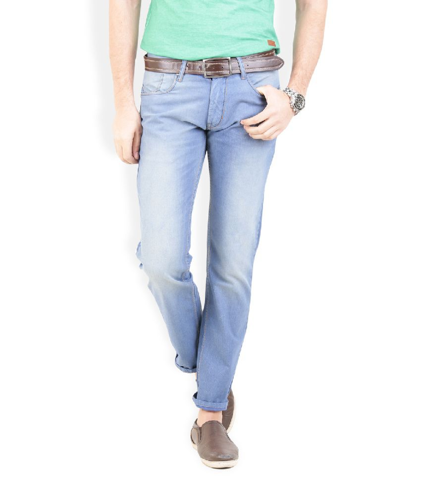 Thisrupt Blue Slim Fit Jeans No