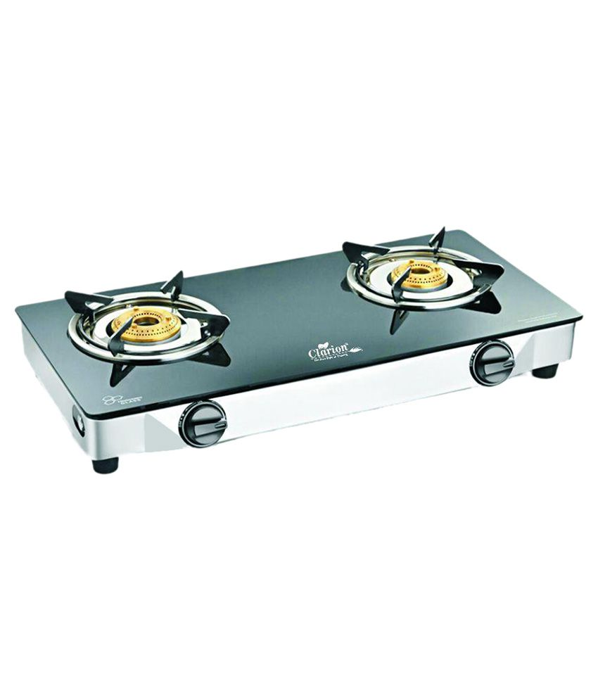 Clarion Manual Ignition Gas Cooktop (2 Burner)