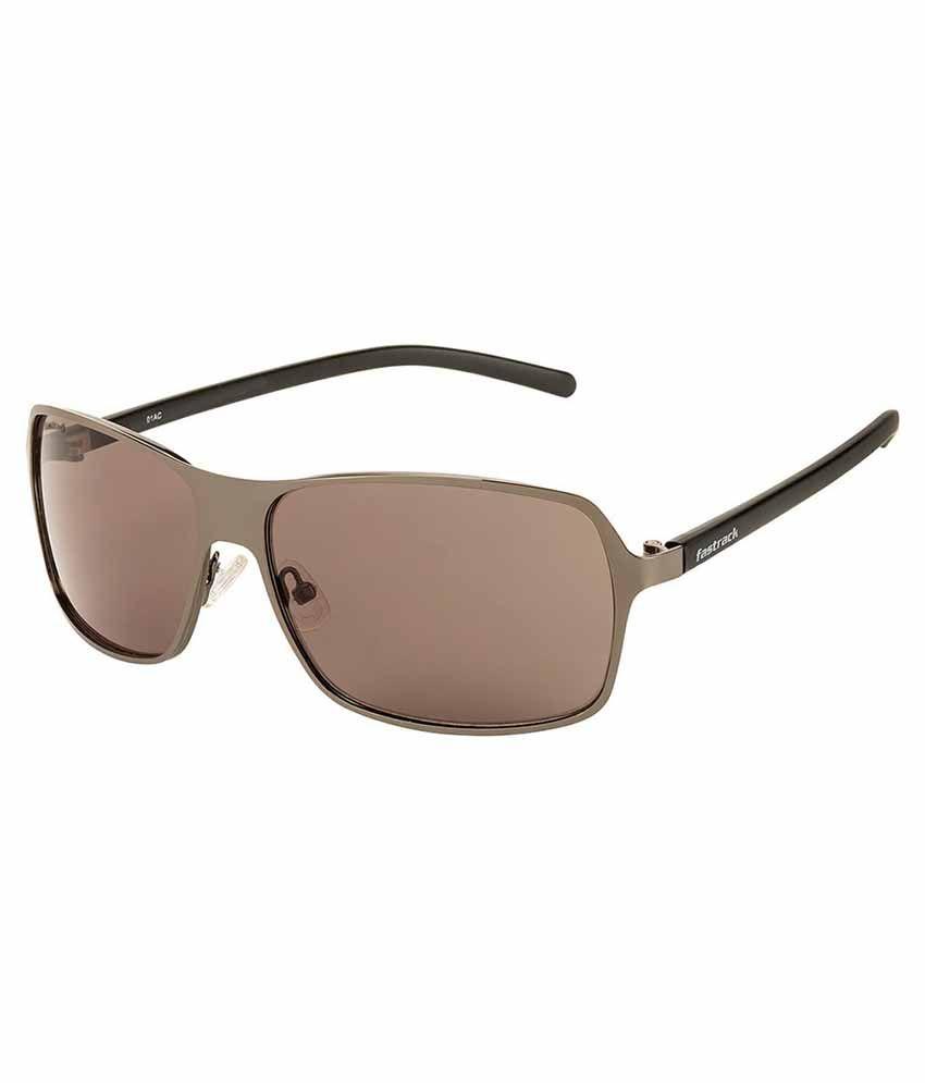 Fastrack Green Aviator Sunglasses