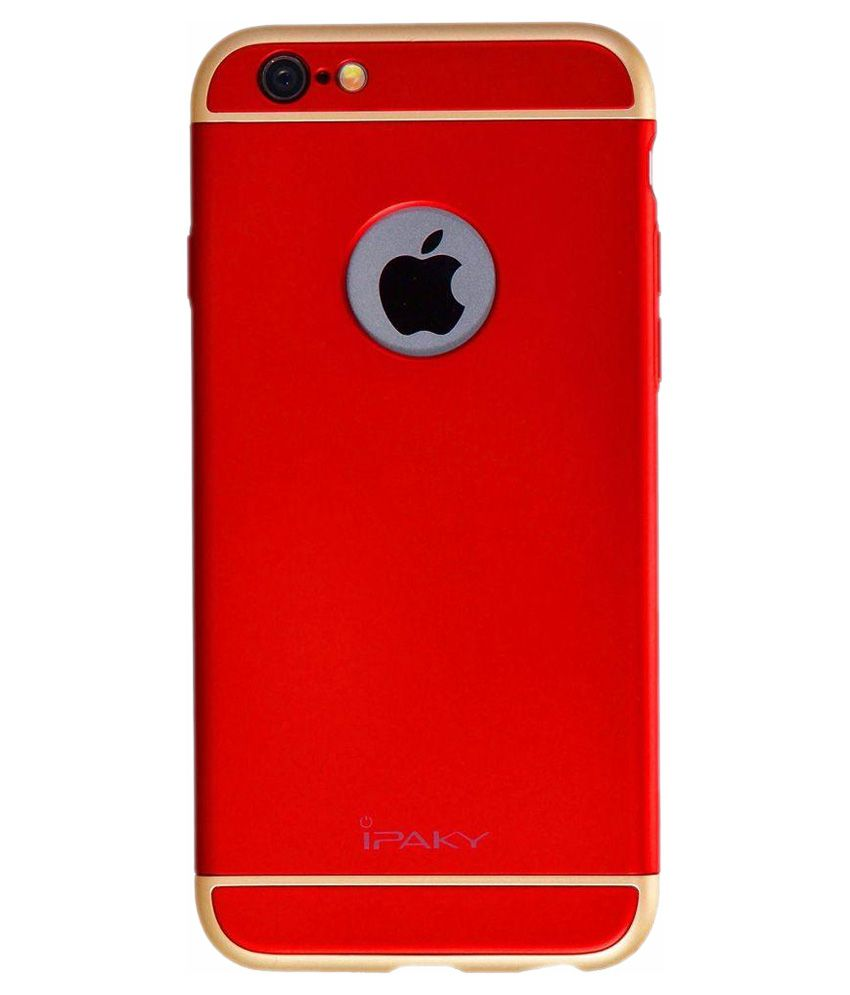 Ipaky Back Cover For Apple iPhone 6 Plus 6S Plus - Red - Plain Back Covers  Online at Low Prices  07e1535b9c53