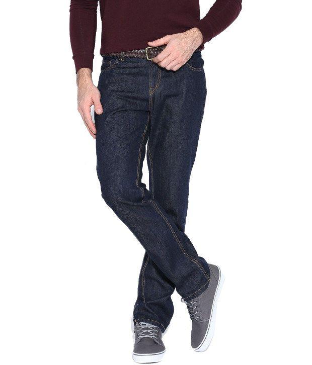Hubberholme Navy Regular Fit Jeans