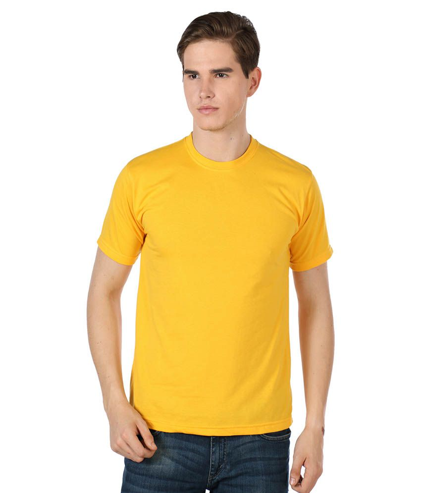 River Nation Yellow Round T Shirts Single