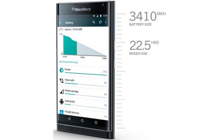 Blackberry Priv ( 32GB , 3 GB ) Black - Android Slider Phone