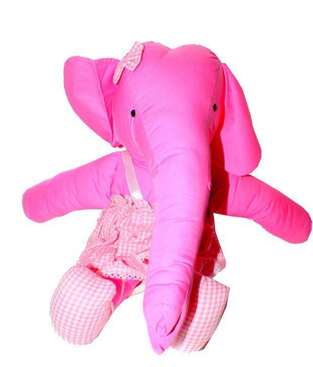 Mesh Pink Elephant Big Girl Stuffed Animal Buy Mesh Pink Elephant