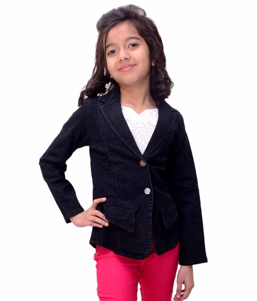 Titrit Black Denim Jacket