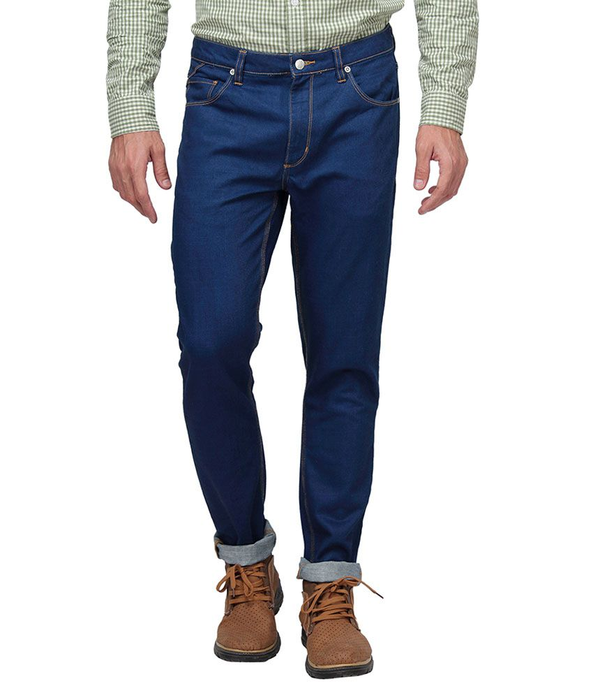 Bluesaint Blue Regular Fit Jeans No
