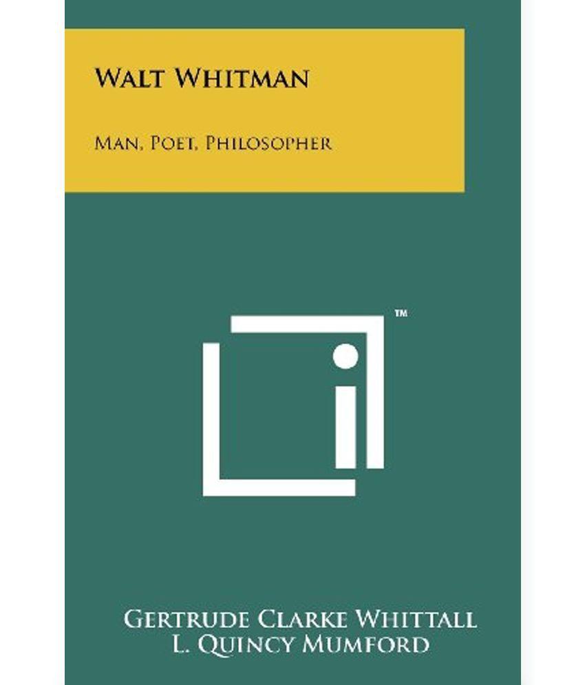 walt whitman the poet the prophet