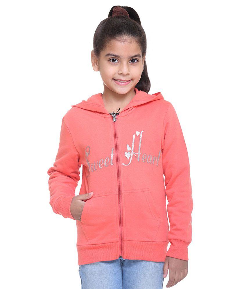 Kids-17 Peach Fleece Sweatshirt