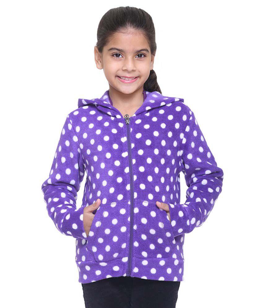 Kids-17 Purple Fleece Sweatshirt